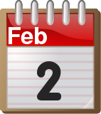 February 2 calendar page
