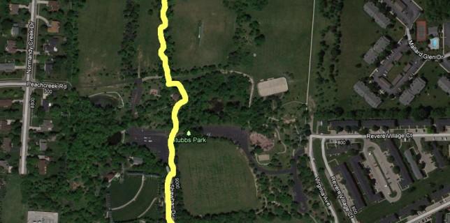 Stubbs Park path